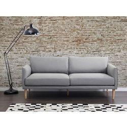 Sofa jasnoszara - kanapa - sofa tapicerowana - UPPSALA, kolor szary