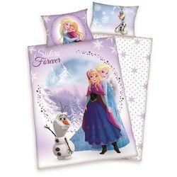 Herding Pościel bawełniana dla dzieci do łóżeczka frozen, 100 x 135 cm, 40 x 60 cm