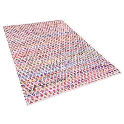 Beliani Dywan wielokolorowy bawełniany 160x230 cm arakli