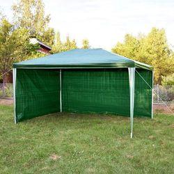 PAWILON OGRODOWY 2x3m +2 ŚCIANKI NAMIOT HANDLOWY - Zielony - produkt dostępny w Makstor