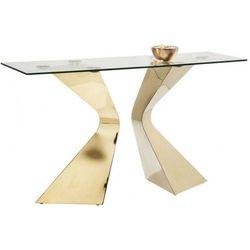 Kare design  konsola gloria złota - 82379