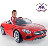 INJUSA Auto na akumulator MERCEDES 6V czerwony