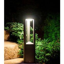 Słupek oświetleniowy LED FAN GL 11204 ciemny popiel 50 cm, GL 11204