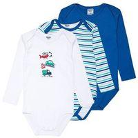 Jacky Baby LANGARM BOYS 3 PACK Body blue (4001742725417)