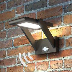 Solarna lampa zewnętrzna LED VALERIAN (4251096511550)
