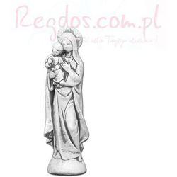 Figura ogrodowa betonowa Maria z Jezusem 37cm