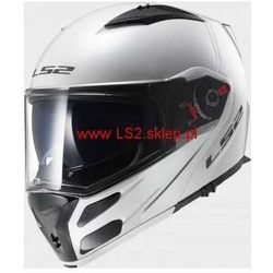 KASK LS2 FF324 METRO SOLID Biały (kask motocyklowy)