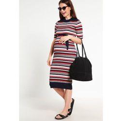 MAMALICIOUS MLREBEKAH Sukienka dzianinowa navy blazer, towar z kategorii: Sukienki ciążowe