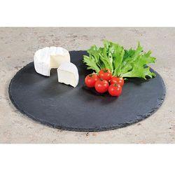 Ozdobna deska do krojenia z kamiennego łupka, okrągła deska do krojenia, deska do serwowania, deska kuchenn