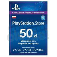 Sony PlayStation Network 50 zł [kod aktywacyjny] (0000006200034)