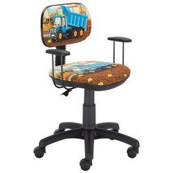 Krzesło obrotowe dla chłopca z wywrotką Odeon