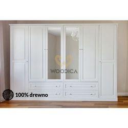 16.szafa nicea 6d4s 260x220x62 marki Woodica