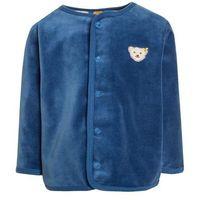 Steiff Collection 1/1 ARM BABY NEWBORN WINTER COLOR Bluza rozpinana federal blue (4056178547027)