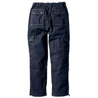 Spodnie bojówki Loose Fit Straight bonprix ciemnoniebieski, kolor niebieski