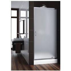 AQUAFORM drzwi Nigra 90 wnękowe, profile chrom, szkło satinato 103-092112 - produkt z kategorii- Drzwi prysz