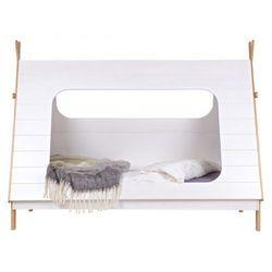 ŁÓŻKO W KSZTAŁCIE NAMIOTU TIPI szuflade pod łóżko nie, dziękuje