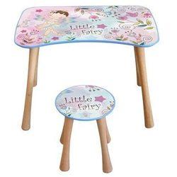 Stolik dziecięcy z krzesełkiem Wróżka kwiatowa, 65 x 41 x 47 cm, 693845