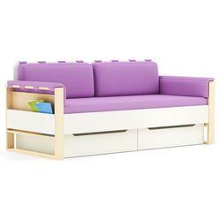 Sofa loft plus  dziecięca, szuflada: bez szuflady, dodatkowe spanie: bez dodatkowego spania, poduszki boczne: bez bocznych poduszek, poduszki tylne: z tylnymi poduszkami darmowa dostawa, wiele produktów dostępnych od ręki! marki Timoore