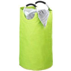 Zielony kosz na pranie JUMBO - 69 litrów, WENKO, B00OA4NC6Q
