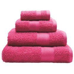ręcznik home hot pink 50x83cm, 50x83cm marki Dekoria
