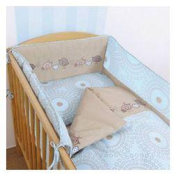 Ceba Baby Pościel 2-el ptaszki brąz - produkt z kategorii- Komplety pościeli dla dzieci