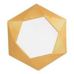 Lustro ścienne złote 60 x 51 cm BASTIA (4251682207744)