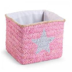 Pudełko plecione 30x33x33 star&cloud róż, kup u jednego z partnerów