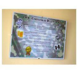 Certyfikat na Dzień Chłopaka - ramka lub antyrama - sprawdź w wybranym sklepie