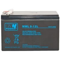 Akumulator żelowy 12v/9ah mwl pb 151x65x94mm 10-12 marki Bto