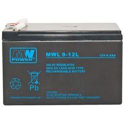 Akumulator żelowy 12V/9Ah MWL Pb 151x65x94mm 10-12