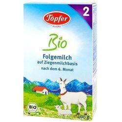 TOPFER 400g Mleko kozie następne 2 od 6 miesiąca Bio | DARMOWA DOSTAWA OD 250 ZŁ z kategorii Mleka dla dzie