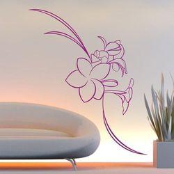 Kwiaty 17 szablon malarski marki Deco-strefa – dekoracje w dobrym stylu