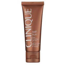 Clinique Self Sun samoopalający krem-żel do twarzy - produkt z kategorii- Pozostałe kosmetyki do opalania