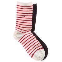Tommy Hilfiger Set of 2 pairs of socks Niebieski Czerwony Beżowy 39-42 (8718824335520)