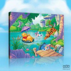 Obraz kubuś puchatek - zabawa w jeziorze ppd2156 marki Consalnet