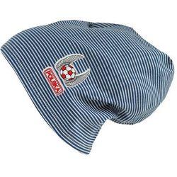 Czapka Dziecięca Bawełna w pasy Polska beanie krasnal ciamajda - CD17-3 z kategorii czapki i nakrycia głowy