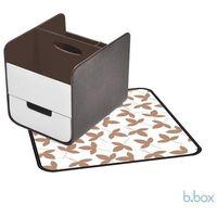 B.BOX Przenośny pojemnik na akcesoria niemowlęce - Choc Chip - produkt z kategorii- Pozostałe przybory i ak