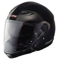 KASK LS2 OF569 SCAPE MATT BLACK WYPINANA SZCZĘKA - produkt z kategorii- kaski motocyklowe
