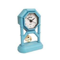 Mini zegar z wahadłem niebieski #AK42, AK42BL