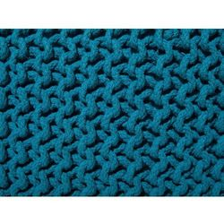 Puf 50 x 31 cm niebieski conrad marki Beliani