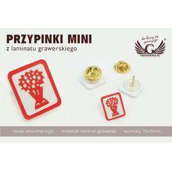 Grawernia.pl - grawerowanie i wycinanie laserem Przypinki/pinsy mini z twoim logo - grawer laserem - ps015, ka