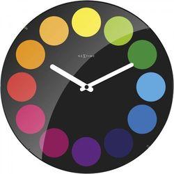 Nextime Zegar ścienny 3167 dots dome śr. 35cm (8717713017301)