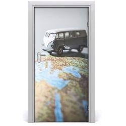 Naklejka fototapeta na drzwi Van na globusie
