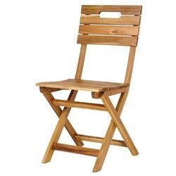 Goodhome Krzesło składane denia 53 x 40 x 87 cm (3663602935971)