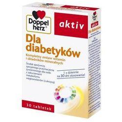 Doppelherz Aktive Dla diabetyków 30 tabl. (artykuł z kategorii Preparaty na poziom cukru)