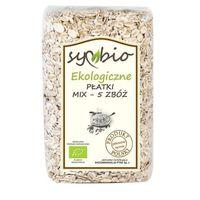 Płatki mix - 5 zbóż ekologiczne  700g, marki Symbio