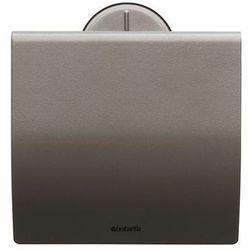 Brabantia - profile uchwyt na papier toaletowy, ciemny srebrny
