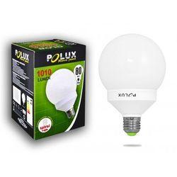 Świetlówka energooszczędna GLOB 20W 80W gwint E27 ciepła/żółta barwa światła SE9702 POLUX/SANICO