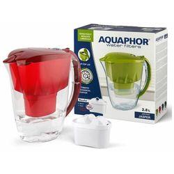 Aquaphor Dzbanek Jasper 2,8 l + wkład B100-25 Maxfor czerwony