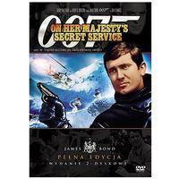 James Bond ekskluzywna edycja 2-płytowa: 007 W tajnej służbie Jej Królewskiej Mości (DVD) - Peter R. Hunt